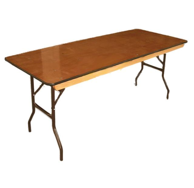 Where to find TABLE 8 X30  WOOD BANQUET in Wichita