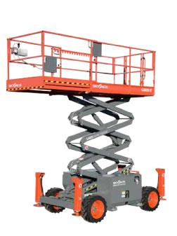 Where to find SCISSOR LIFT 32  RT SKYJACK in Wichita