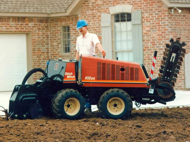 Where to find 410SX DITCH WITCH TRENCHER-VIPLOW in Wichita