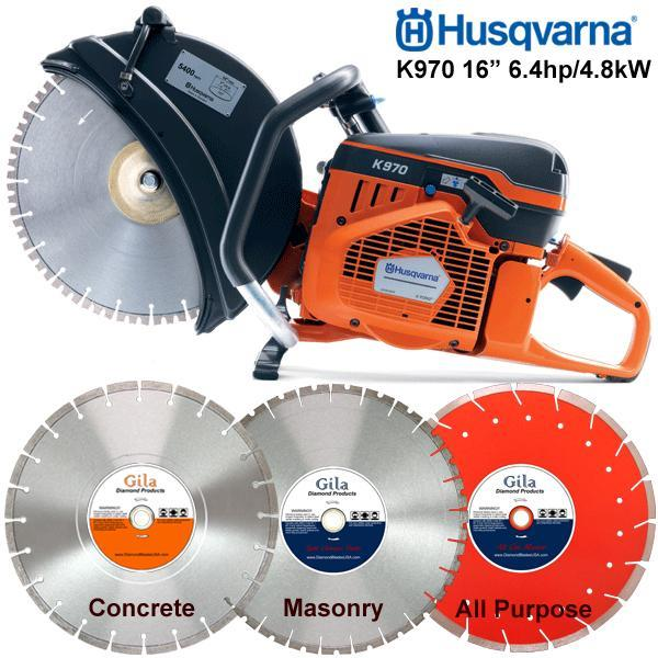 Where to find SAW 16  CUT OFF  K970 HUSQVARNA in Wichita